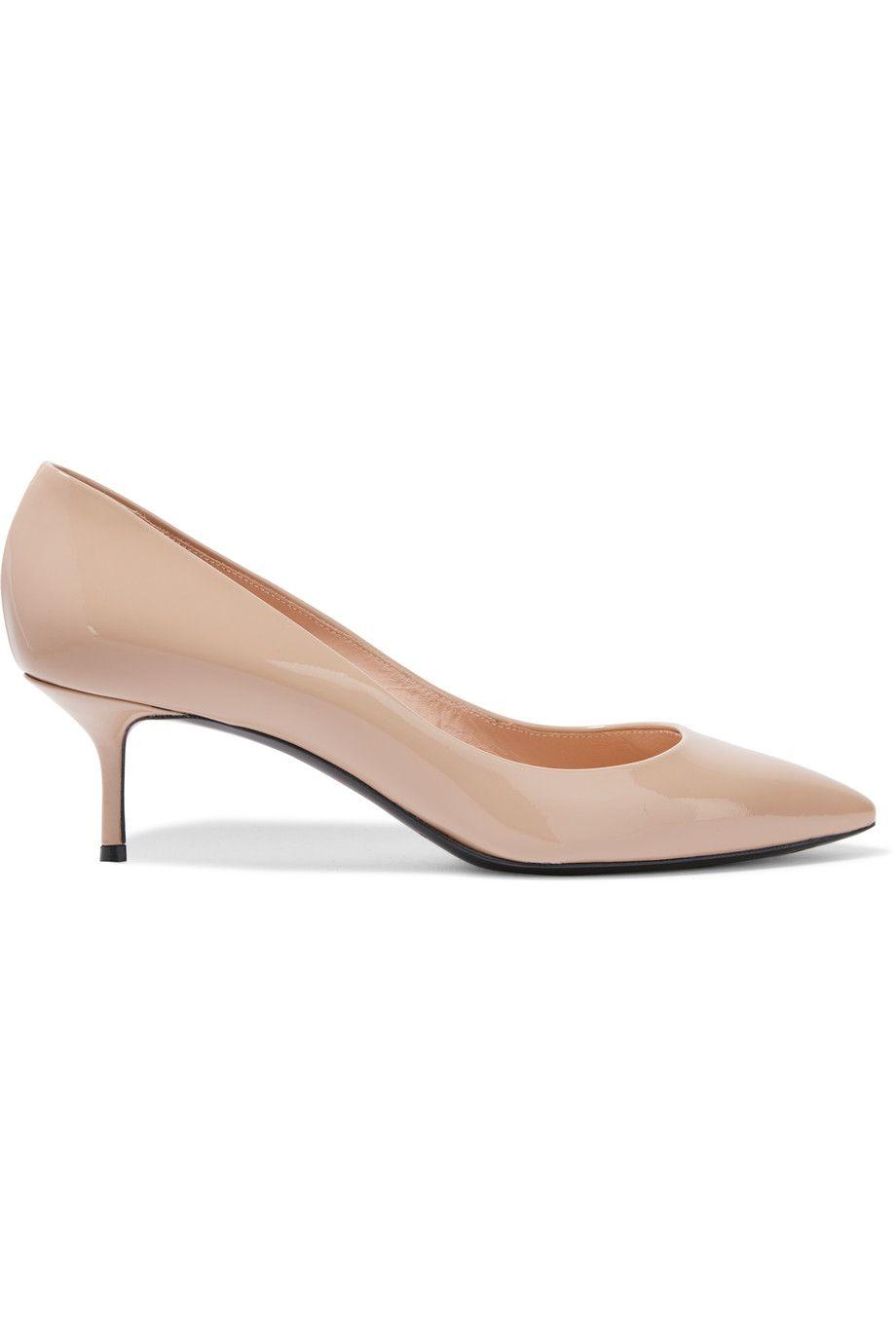 CASADEI Patent-Leather Pumps. #casadei #shoes #pumps