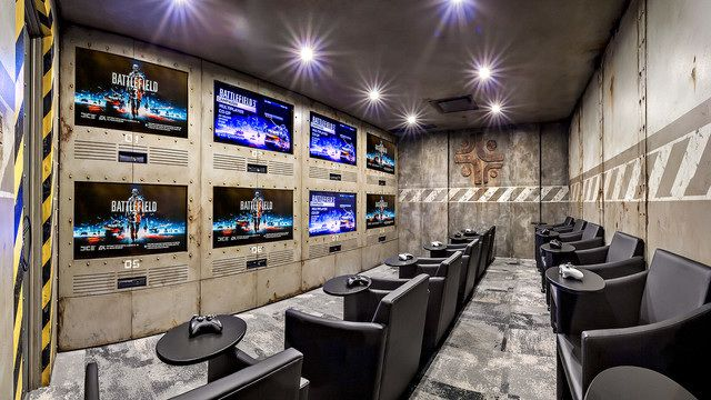 Camptin Designs Ultimate Game Room With Underground Military