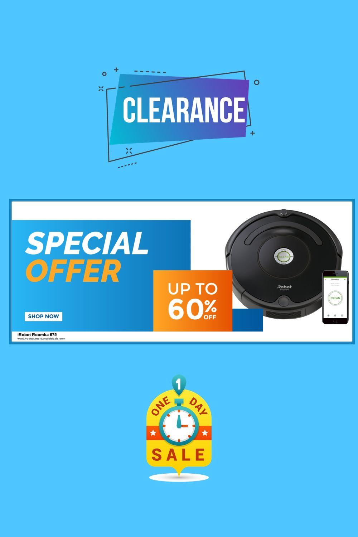 9 Best Irobot Roomba 675 Black Friday Deals Offers 2020 Irobot Roomba Irobot Roomba