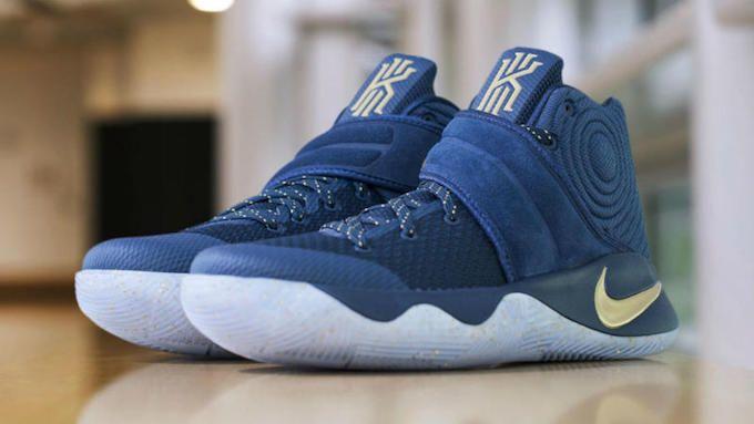 the latest a7419 9b36a Nike Kyrie 2 Blue Velvet Finals PE