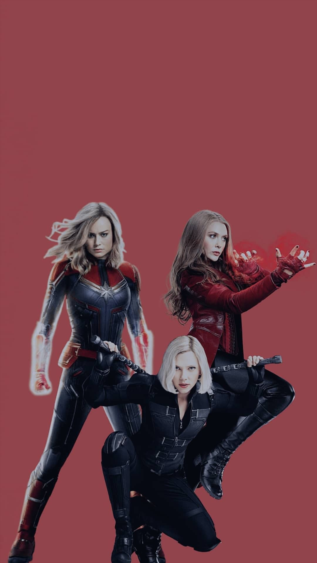 Captain Marvel Scarlet Witch And Black Widow Black Widow Marvel Black Widow Wallpaper Captain Marvel