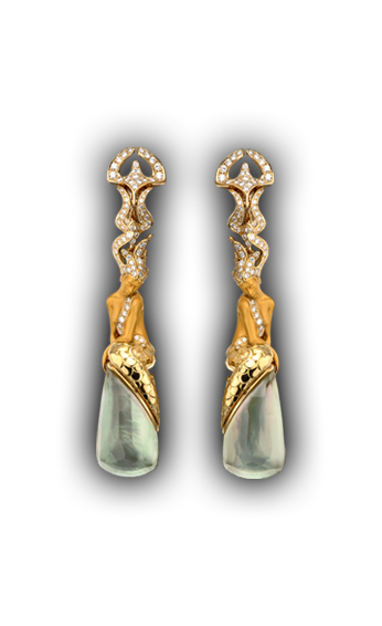 Magerit - Atlantis Collection: Earrings Sirena Ola