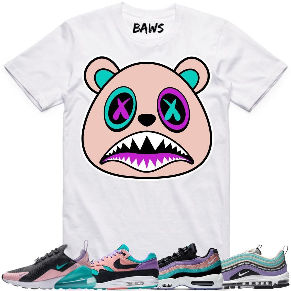 Have a Nice Day Collection Air Max Sneakers matches tee