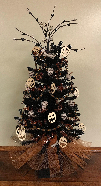 Halloween Tree, Halloween Centerpiece, Halloween Display
