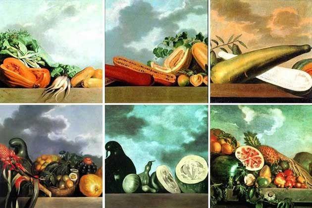 Hortalicas E Frutas Retratadas Pelo Pintor Albert Eckhout No