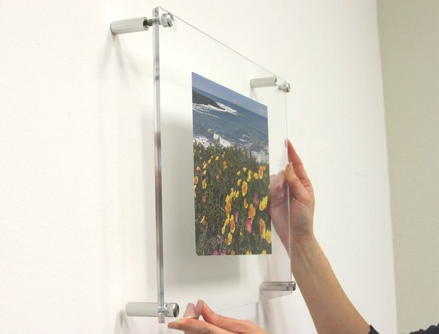1923D Double Panel Acrylic Wall Frame 19x23 contemporary frames ...