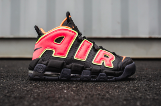 The Nike WMNS Air More Uptempo Hot Punch Is Now Available