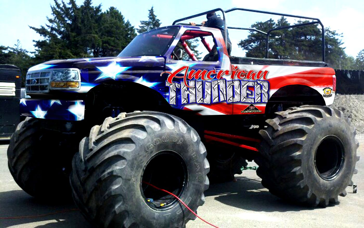 American Thunder Motorsports Monster Truck Ride Truck Manly