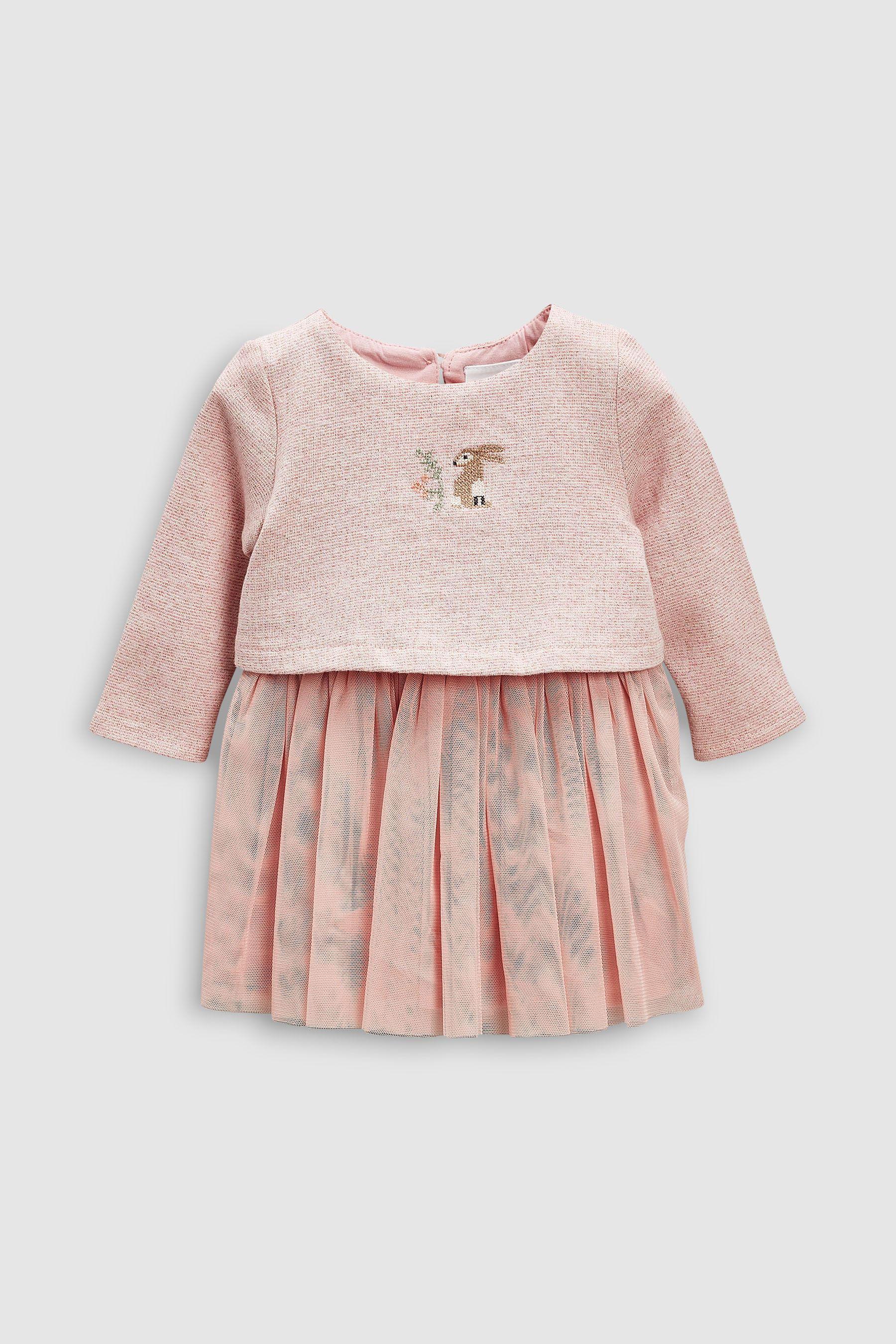b54961f03 Girls Next Pink Bunny Tutu Dress (0mths-2yrs) - Pink