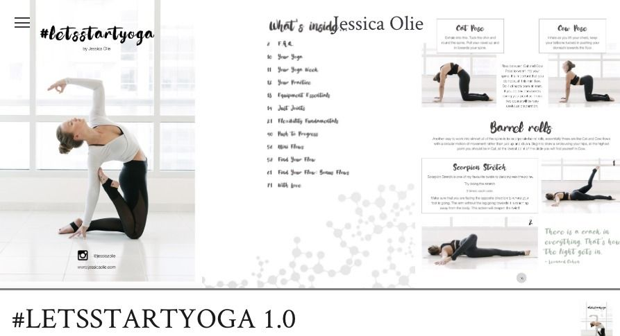 Jessica Olie Lets Start Yoga Pdf Free Download Fitness Guide Leaks How To Start Yoga Jessica Olie Workout Guide