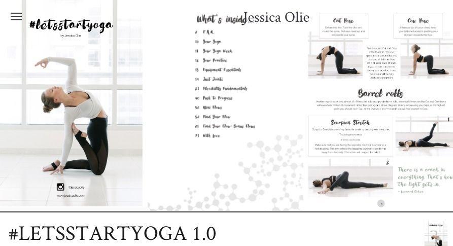 Jessica Olie Lets Start Yoga Pdf Free Download How To Start Yoga Jessica Olie Workout Guide