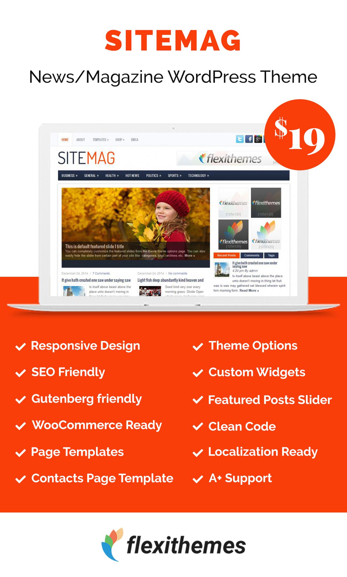 SiteMag | Magazine Wordpress Themes | Pinterest | Buy cell phones