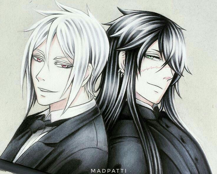 Kuroshitsuji Sebastian And Undertaker