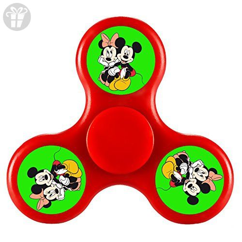 JOIEM Mickey Mouse Disney Tri Fid Spinner Hand Spinner Stress