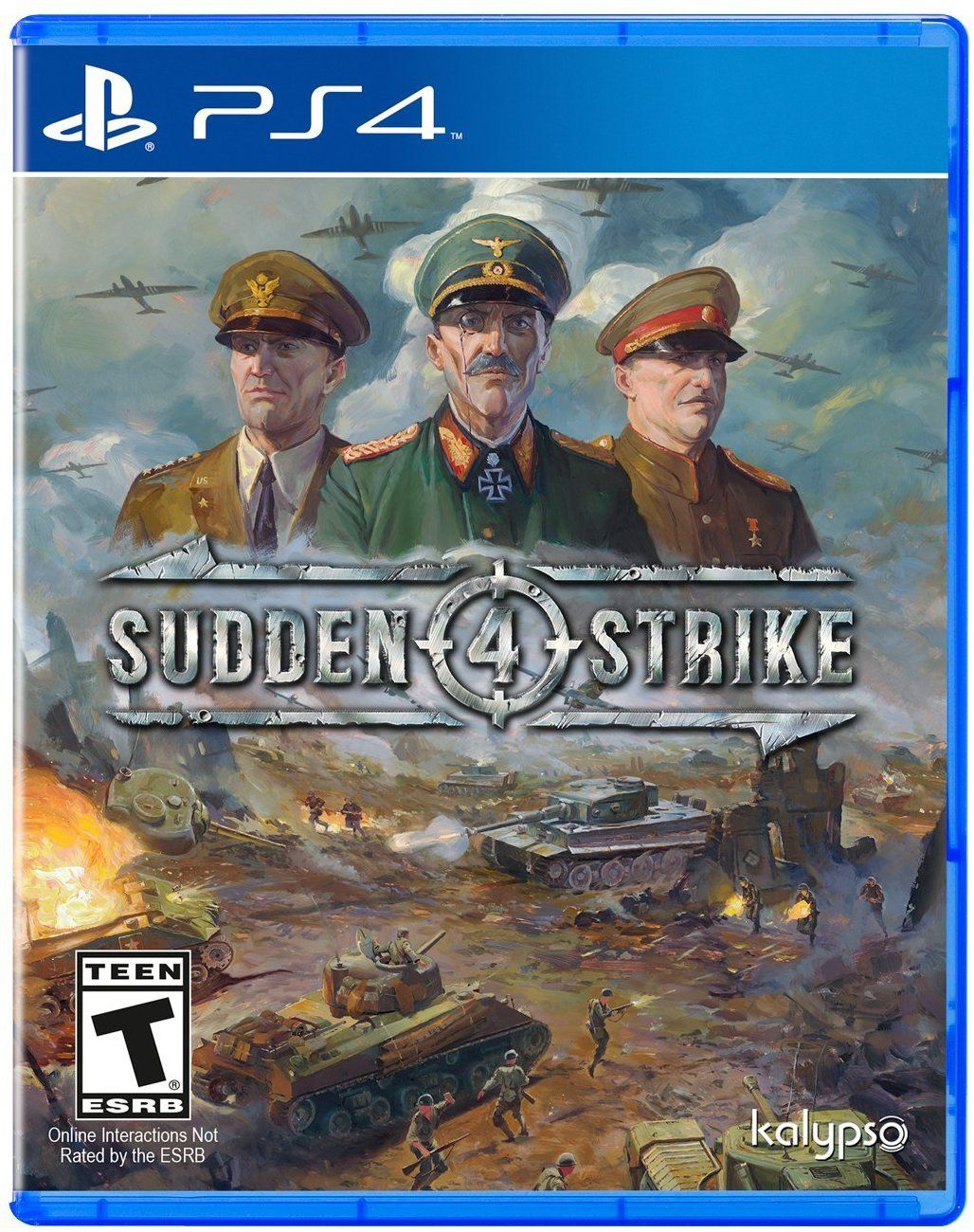 Sudden Strike 4 offers realistic realtime strategy