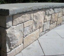 Bluestone Caps For Retaining Wall Google Search Wall Seating Bench Around Trees Hardscape