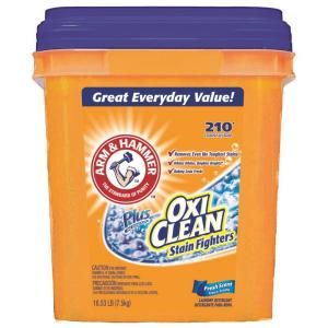Arm Hammer 16 3 Lb Fresh Scent Laundry Detergent With Oxiclean