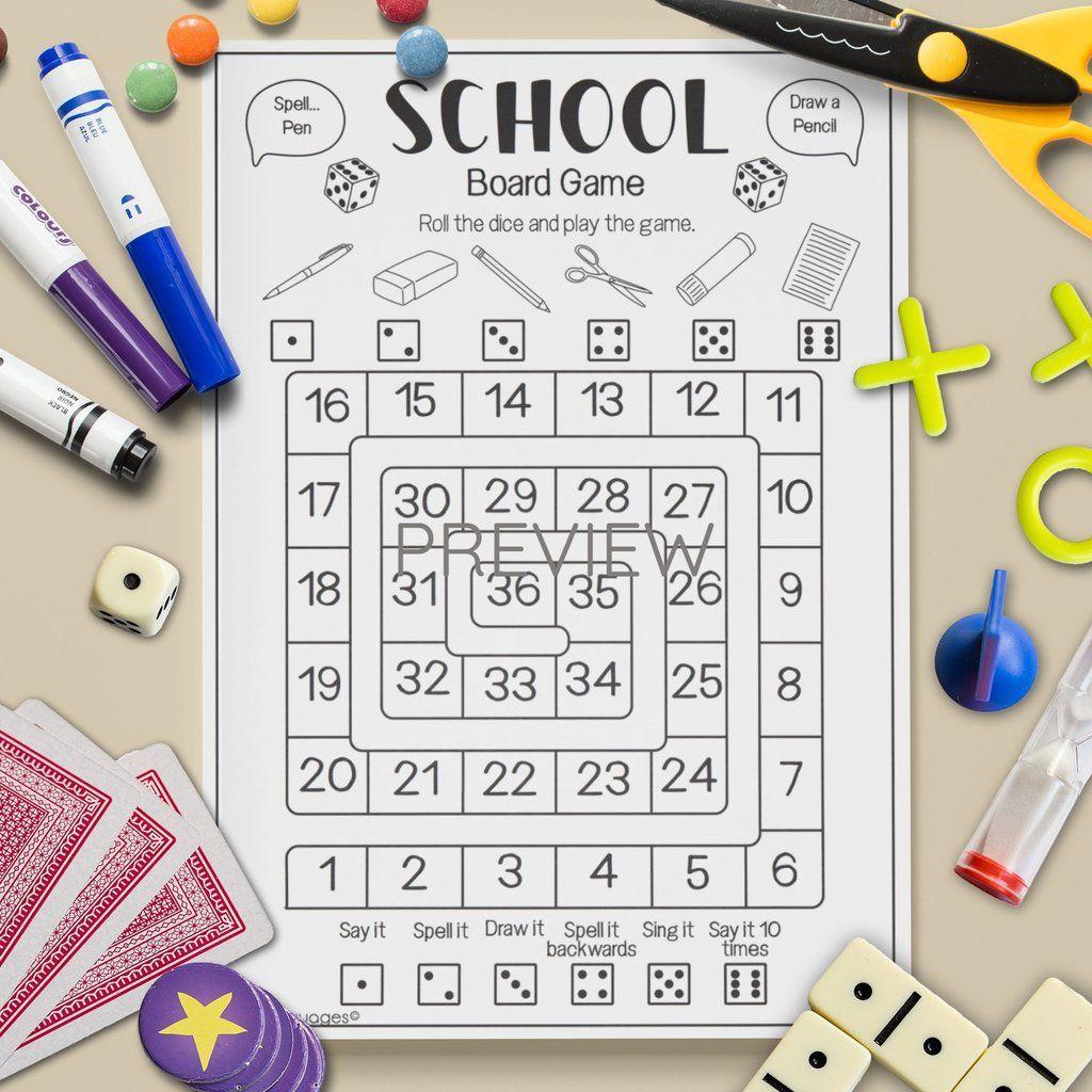 School Board Game