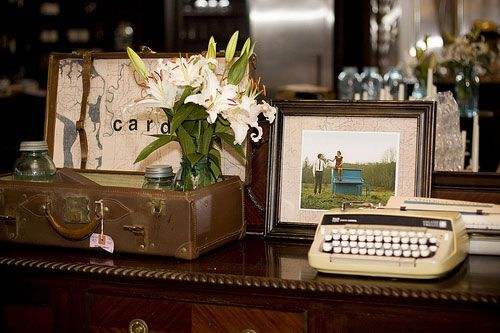 Posts About Suitcase Card Box On Vintage Wedding Style
