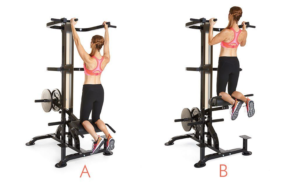 Exactly How To Use The Assisted Pullup Machine At The Gym ...