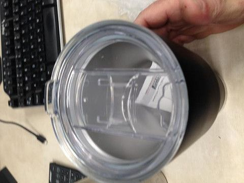 Spill Resistant Lid for 30 oz. Tumblers - Fits YETI Rambler®, RTIC, Kuer CorpCups, SIC Cups, and Most Other 30oz Cups.