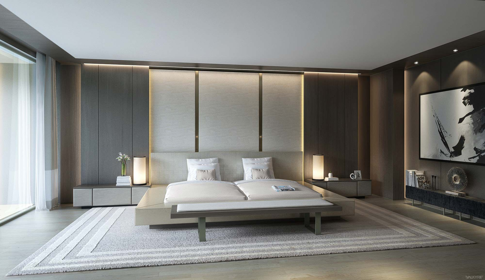 Best 21 Cool Bedrooms For Clean And Simple Design Inspiration 400 x 300