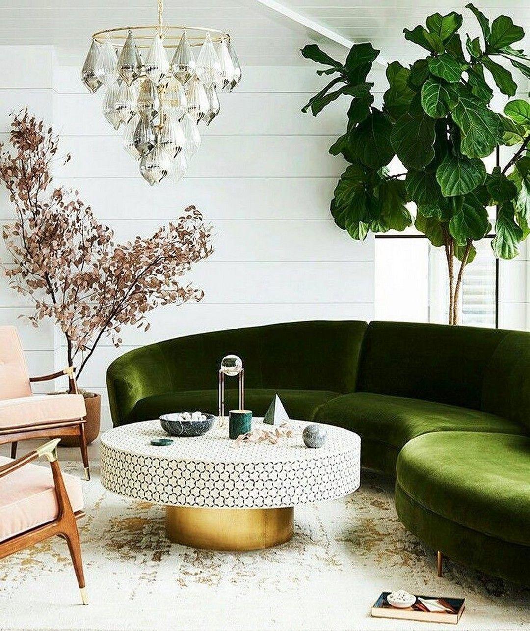 38 Ideas For Living Room: 38 Green Velvet Sofa Design Ideas To Makeover Your Living