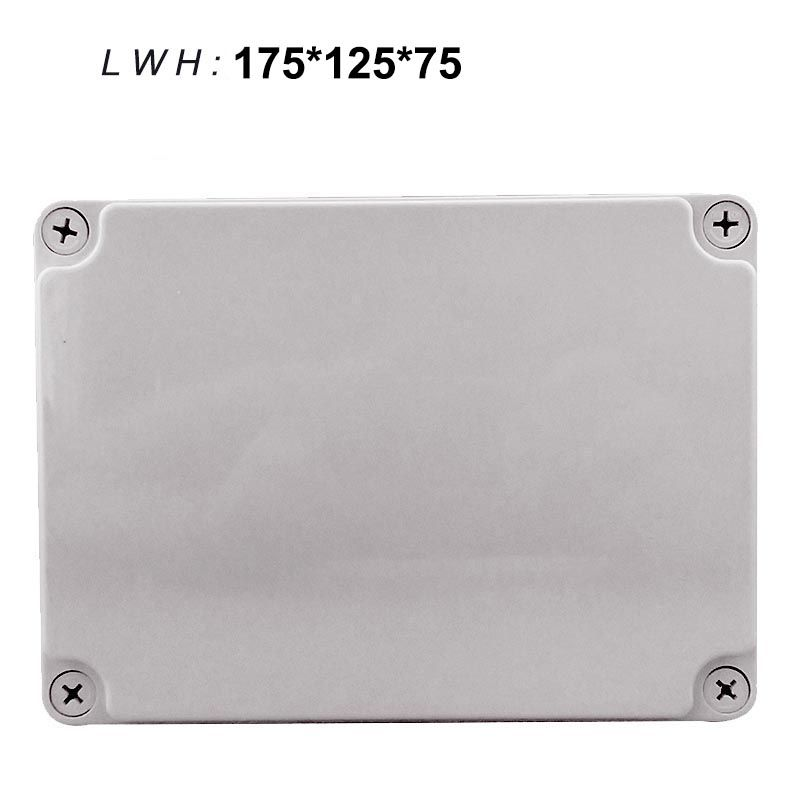 175 125 75mm Outdoor Waterproof Junction Box Abs Plastic Boxes Sealed Box Plastic Junction Box Enclosure Junction Boxes Waterproof