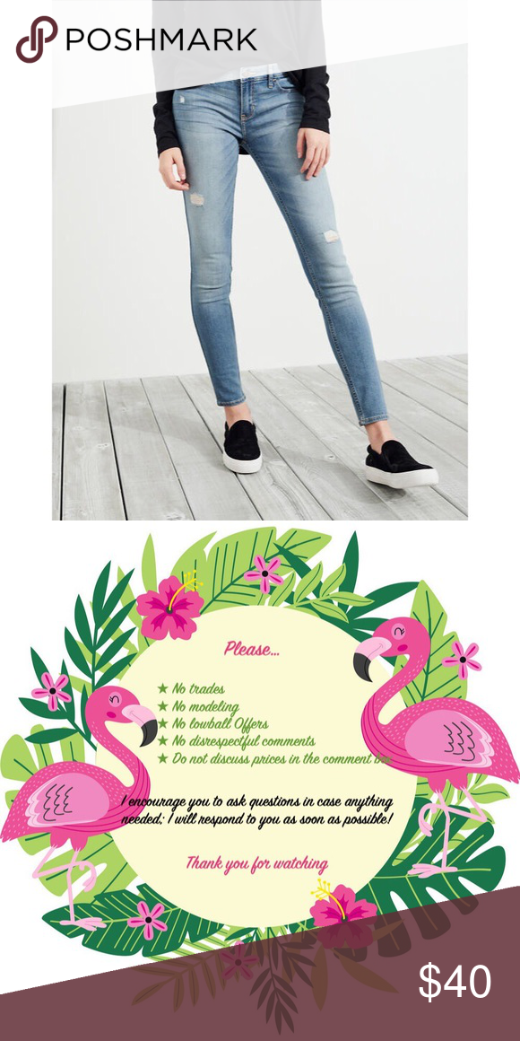 69dba7f902 NWT ⭑ Classic Stretch Low-Rise Super Skinny Jeans Coming soon!! Ripped jeans