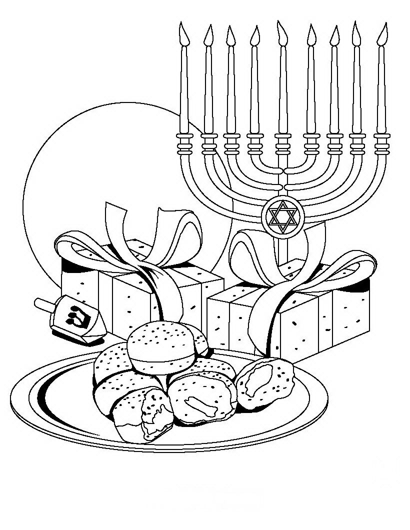 jewish coloring pages coloring pages