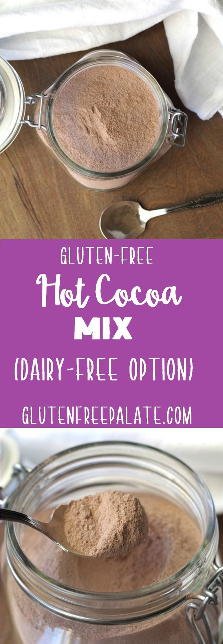 Gluten-Free Hot Cocoa Mix with a Dairy-Free Option - GF ...