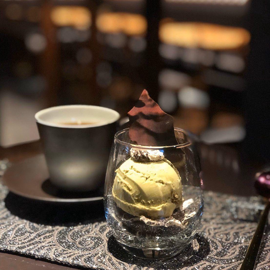 ピスタチオとショコラ Jotaro Cafe デザート ピスタチオ ショコラ
