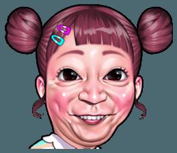 Funny Face Collection Creators Stickers Wajah Lucu Kartun Lucu Gambar Kartun