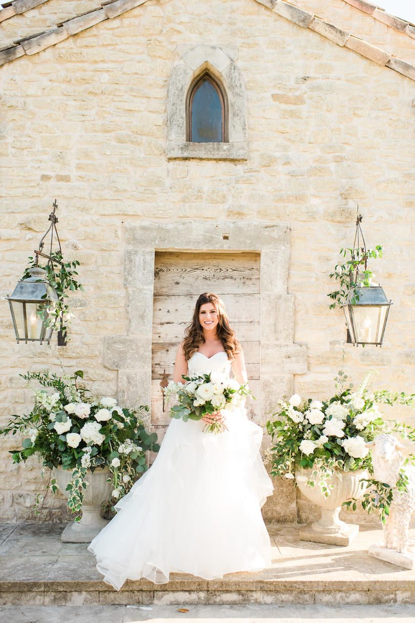 Beaming Bridal Whites We Love It When A Bride Lets Her Sweet Tooth Shine Take One Look At This Wedding S Lavish Dessert Table And It S Easy To See That A St