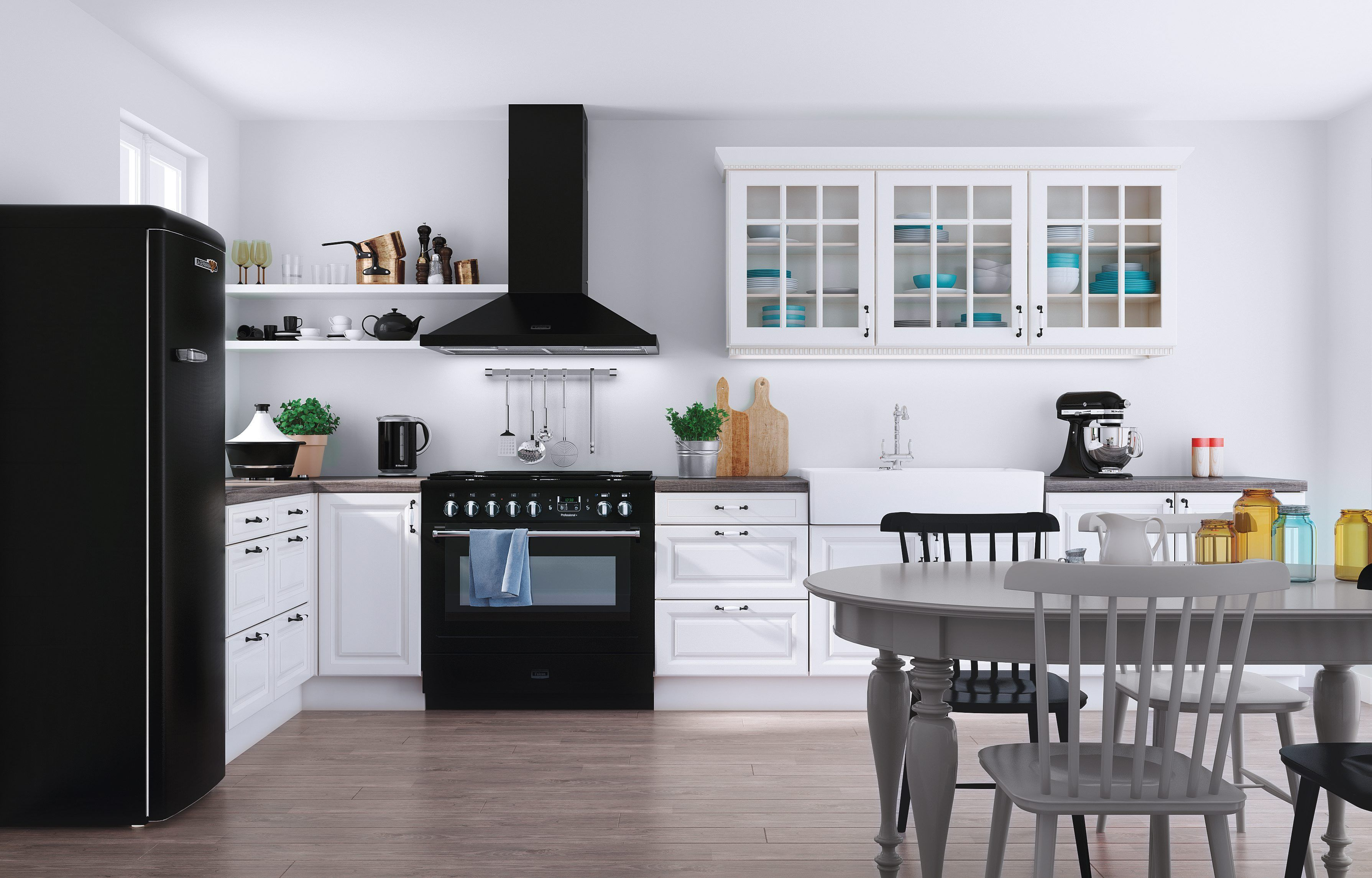 Cuisine Kanella But Inspiration Noir Blanc Maison Deco Meuble Cuisine Kitchenette Meuble Canape