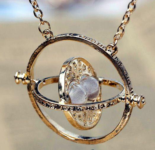 Harry Potter Naszyjnik Hermiony Zmieniacz Czasu 4806949799 Oficjalne Archiwum Allegro Time Turner Necklace Glass Pendant Necklace Harry Potter Iphone Wallpaper