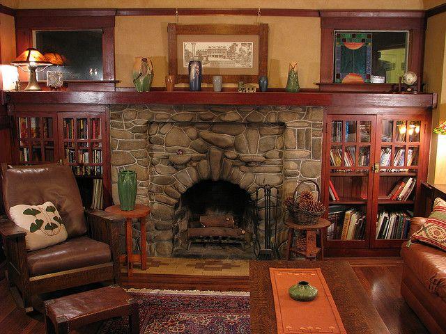 Our Living Room Built Ins Craftsman Living Rooms Craftsman Fireplace Living Room Built Ins