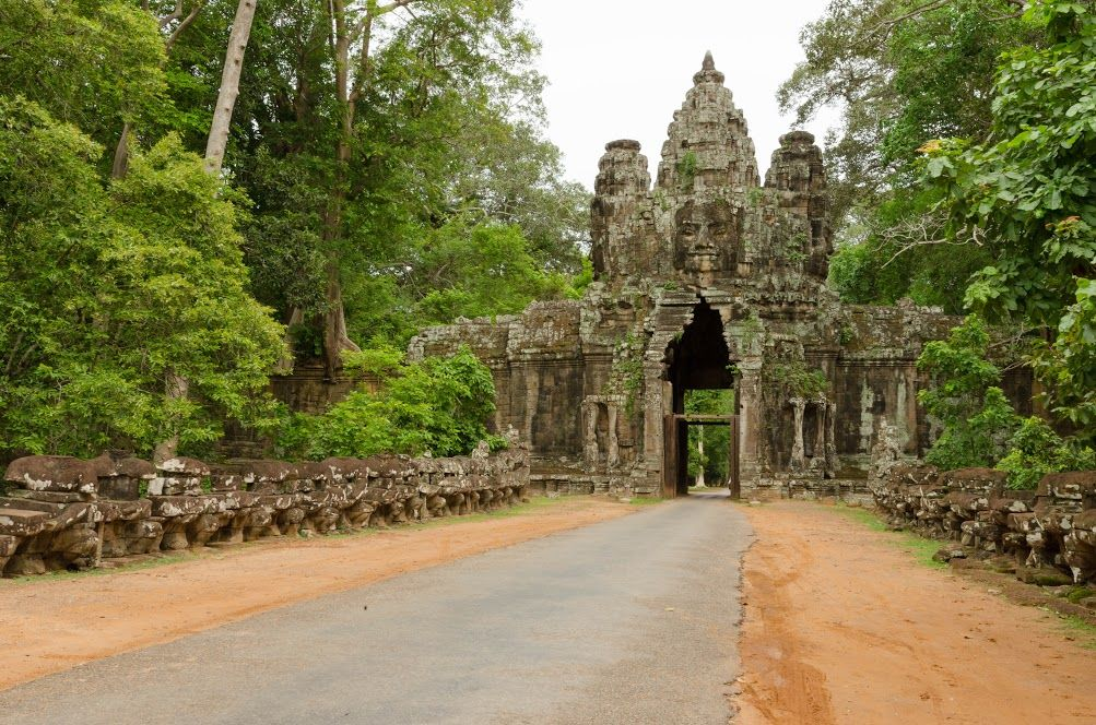 Cambodia one of many things youll experience during your