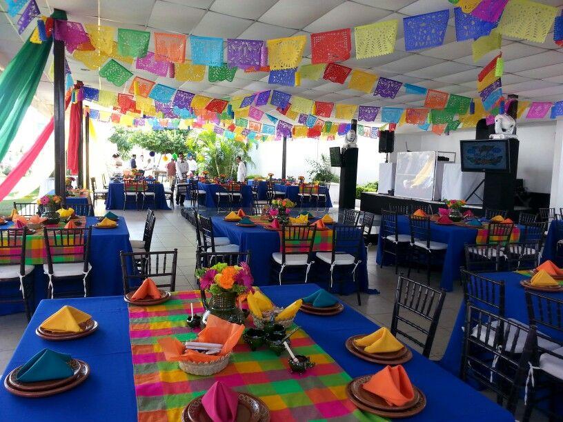 Frevo Terraza Eventos Fiesta Theme Party Mexican Fiesta