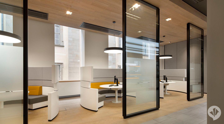 Commerzbank Flagship Branch Concept Dan Pearlman Group In 2020 Bank Interior Design Interior Home Decor