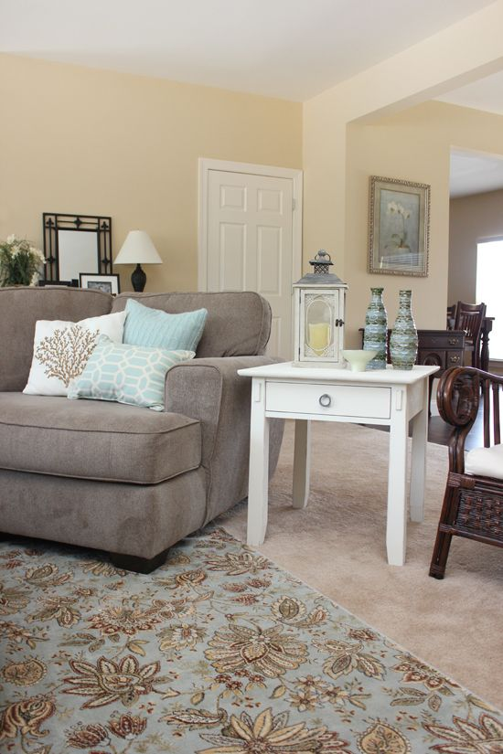Almond Cream By Porter Paint Color Ascp Old White End Table