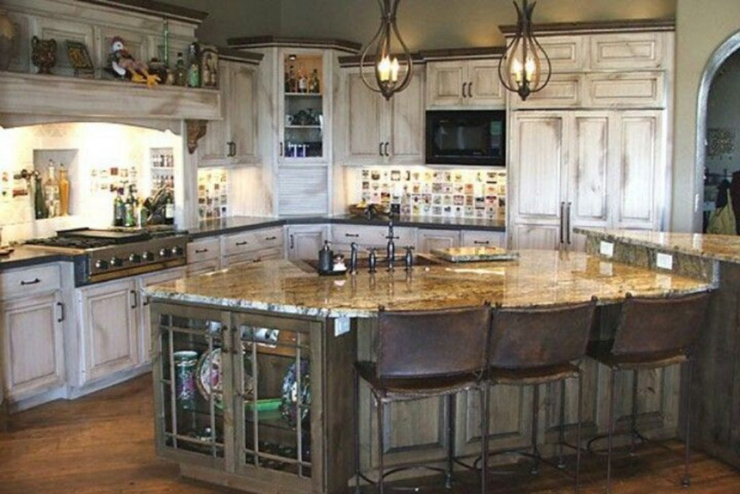 15 interesting rustic kitchen decorating for comfortable
