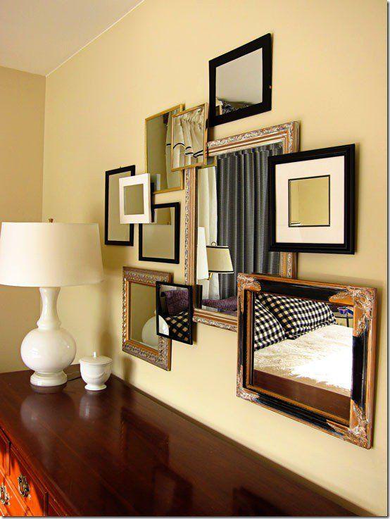 3D Mirror Collage | collage | Pinterest | Mirror collage, Master ...