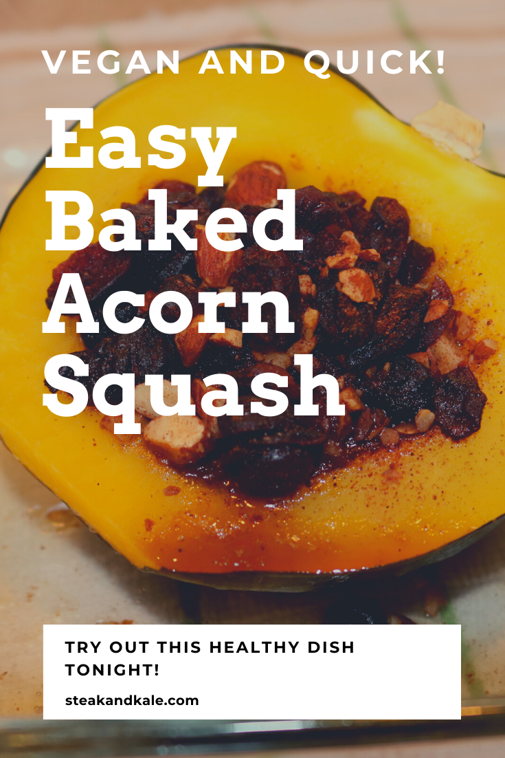 This Recipe For Baked Acorn Squash Is Delicious And Easy You Are