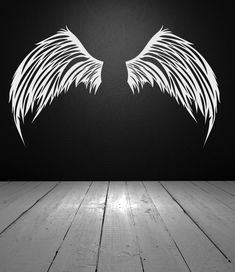 Angel Wings Wall Decor, Celestial Decal, Universal Heavenly Decoration, Party Design, Gift Idea, Home Artwork, Feather Art, Photo Op Sign