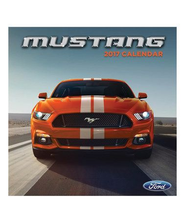 Loving this Mustang 2017 Wall Calendar on #zulily! #zulilyfinds
