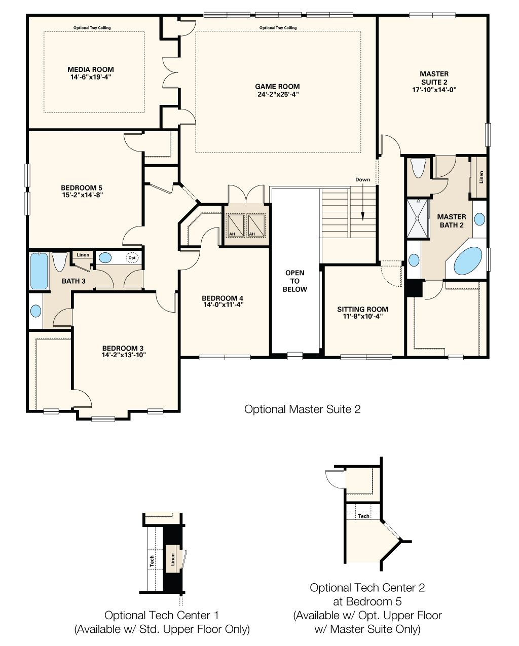 New Homes By Taylor Morrison Floor Plans Open Baths New Homes