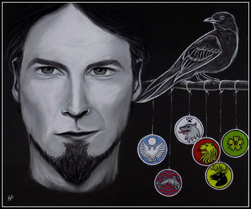 Petyr Baelish (art by Anastasia Robozeeva)
