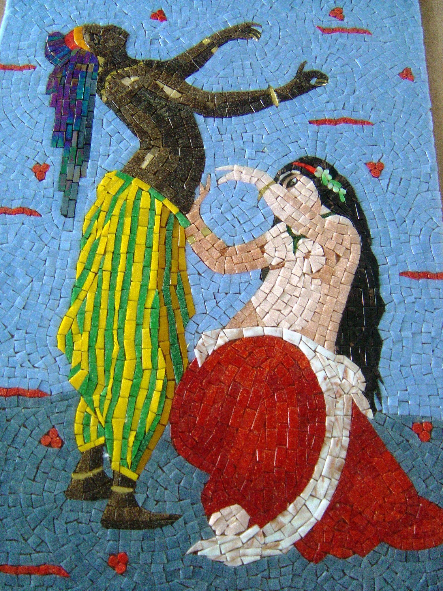 Mozaik Sanat Evi2nin Osmanlı serisi mozaiklerinden