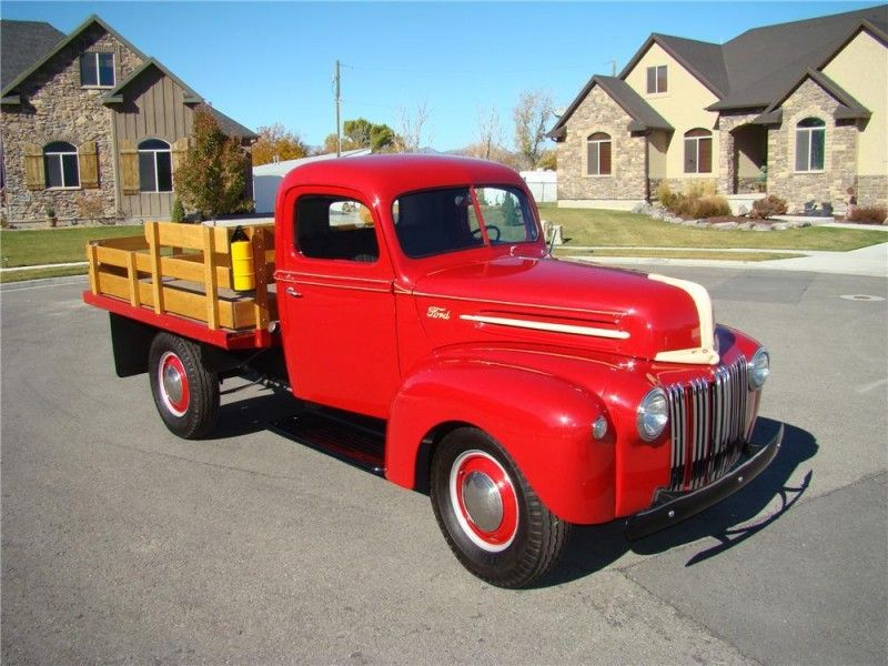 1947 Ford One Ton Flatbed Truck - Classic Muscle Car Restoration ...